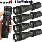 5-Pack UltraFire Tactical T6 Flashlight