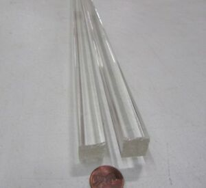 "Acrylic Cast Round Rod Clear .625/"" 1 Unit Dia x 48 Inch Length 5//8/"""