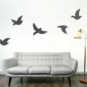 flying birds wall decals bedroom bird flying wall decal sticker
