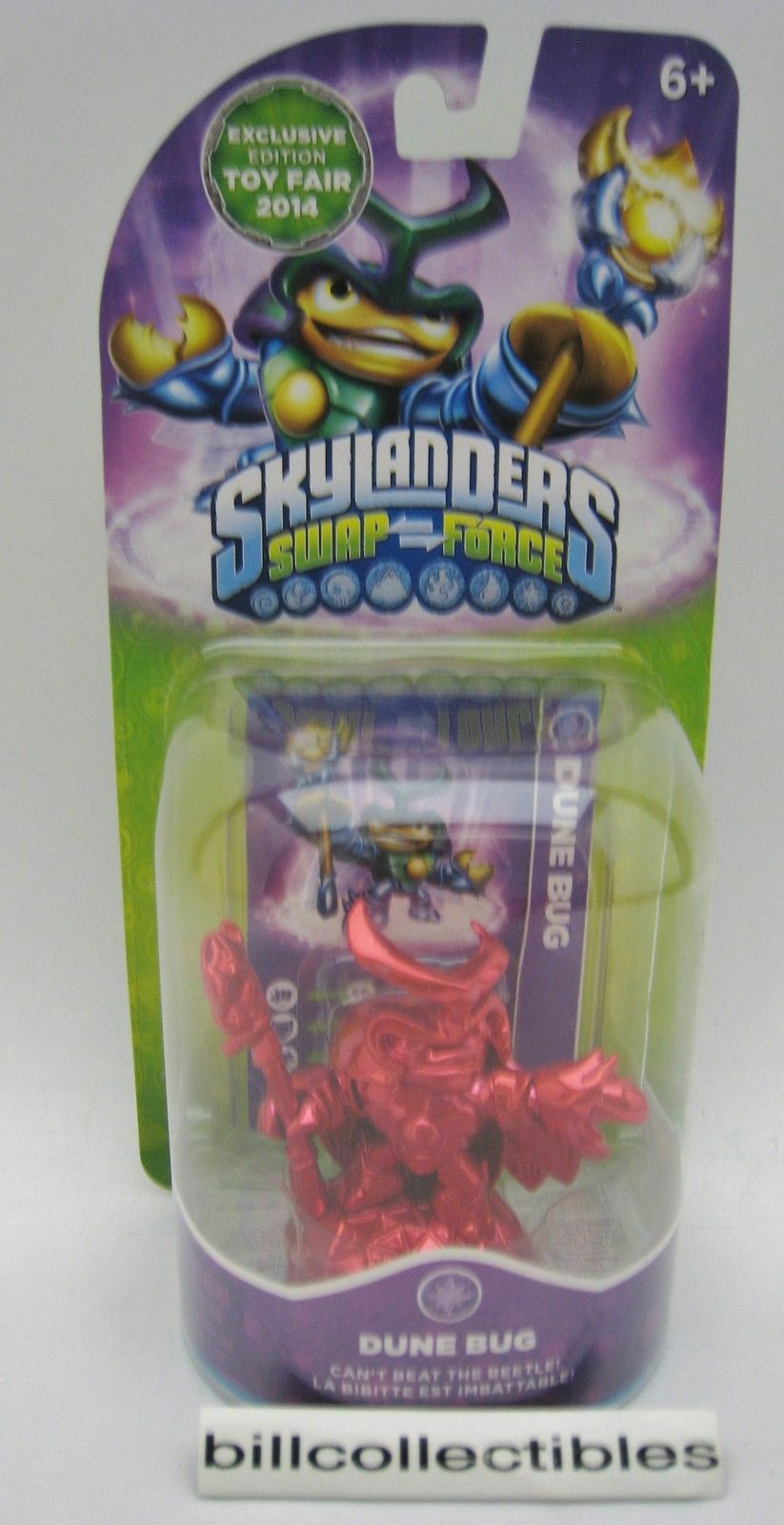 Skylanders Swap Force - Red Metallic Dune Bug 2014 New York Toy Fair Exclusive