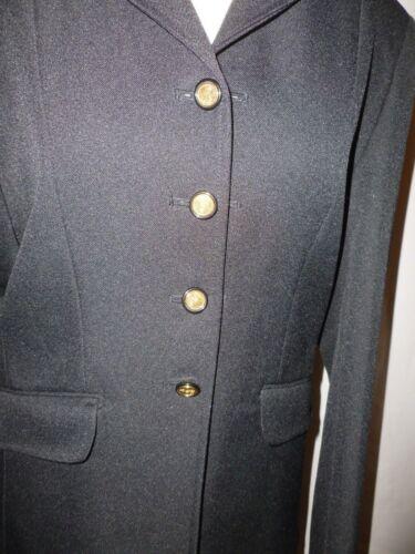 D'équitation 12 Veste Doublure Just Uk Avec Rouge Noire Taille Togs 10 IYy76fgbv