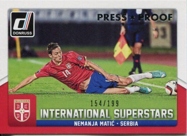 Superstars Chase Card #9 Daniele De Rossi Donruss Soccer 2015 Int