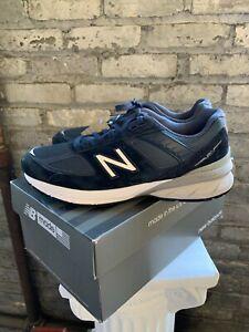 NIB-New-Balance-Men-039-s-Running-Shoes-Navy-Blue-M990NV5-MED-PICK-SIZE