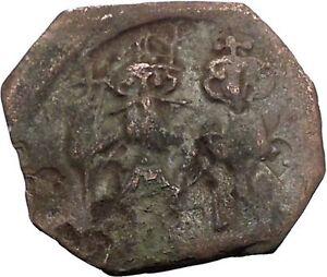 HERACLIUS-610AD-Follis-of-Syracuse-Sicily-Ancient-Medieval-Byzantine-Coin-i54784