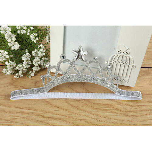 1 X Baby Princess Crown Head Band Best Gift for Girls Photo Props Accessorie OQF
