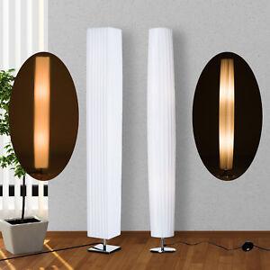 Homcom Stehlampe Stehleuchte Standleuchte Wohnzimmer E27 Edelstahl