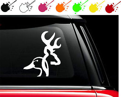 Duckhead Browning Vinyl Car Truck Window Decal Sticker Deer Duck Dynasty Heart