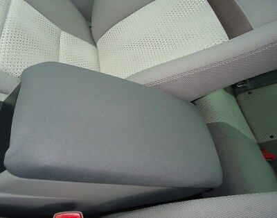 Neoprene Auto Armrest Cover For Center Console Lid Made in USA U4NEO Gray