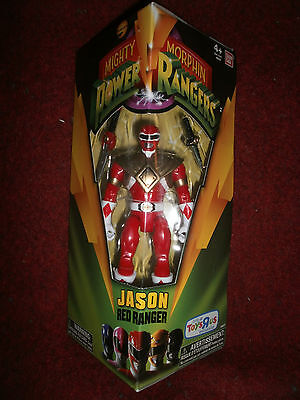 """POWER RANGERS MIGHTY MORPHIN JASON RED POWER RANGER 5/"""" ONLY AT TOYS R US"""