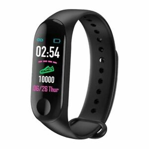 Smart-Band-Watch-Bracelet-Wristband-Fitness-Tracker-Blood-Pressure-Heart-Rate-M3