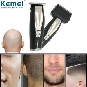 Kemei2057-2-in-1-0mm-Men-039-s-Electric-Shaver-Beard-Trimmer-Canopy-Head-Alternative