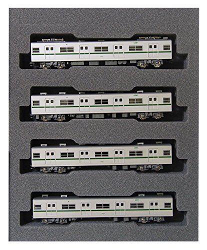 Kato 10-1144 Tokyo Metro Series 6000 Chiyoda Line 4 Cars Add-on Set (N scale)