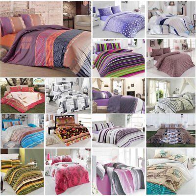 Besorgt Bettwäsche 200x220 Cm Bettgarnitur Bettbezug Baumwolle Kissen Decke 4 Tlg Var #6 100% Garantie Bettwäschegarnituren