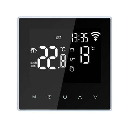 School Hotel WiFi Large LCD Room Thermostat Heating APP Remote Controller T3O9