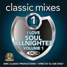 DMC Classic Mixes I Love Soul Allnighter Soulful Megamixes & Remixes Music DJ CD