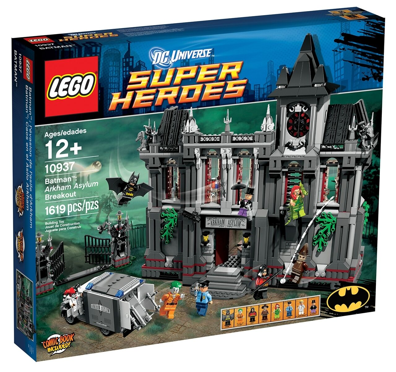 LEGO BATMAN ARKHAM ASYLUM BREAKOUT SET 10937 BRAND NEW NEW NEW IN FACTORY SEALED BOX 33e08c