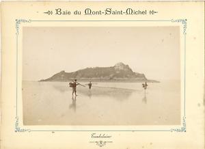 ND-France-Baie-du-Mont-Saint-Michel-Tombelaine-Vintage-albumen-print-Tirag