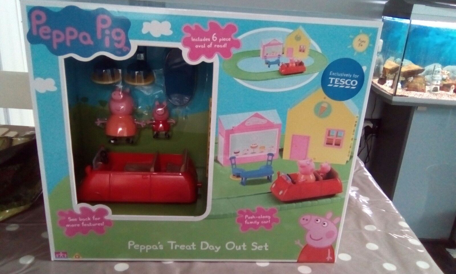 Peppa Pig Treat Day Out Set .New