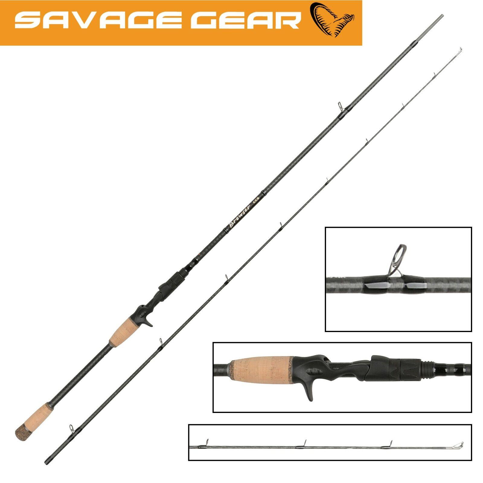Savage Gear Browser CCS Cast 218cm 20-60g - Spinnrute, Spinnangel, Castingrute