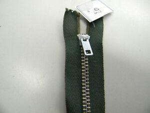 1 Mercerie Fermeture Eclair Vert Kaki 20cm Jupe Pantalon Neuf R34ref54 De Bons Compagnons Pour Les Enfants Comme Pour Les Adultes