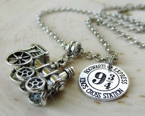 Hogwarts Potter Hogwarts Platform 9 ¾ Necklace Pendant Harry