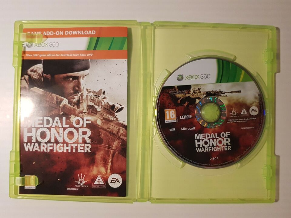 Medal of honor, warfighter, Xbox 360