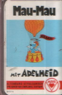 MAU-MAU mit ADELHEID Quartett / Kartenspiel ASS Bestell-Nr. 3117/ A