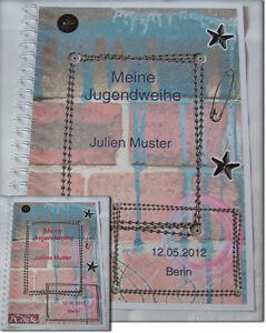 Jugendfeier-Festzeitung-Jugendweihe-Grafitti-Rock-Geschenk-Einladung-Karte