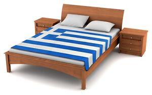 Fuzzy-Flags-Greece-Flag-Fleece-Blanket-80-034-x50-034-Oversized-Greek-Throw-Cover-NIB