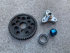 Slipper-Clutch-Eliminator-Bearing-Adapter-amp-53T-Spur-Gear-Traxxas-Slash-4x4