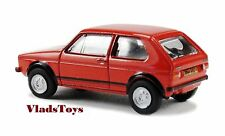 Oxford Die-cast 1/76 Volkswagen Golf GTI - Mars Red 76GF001