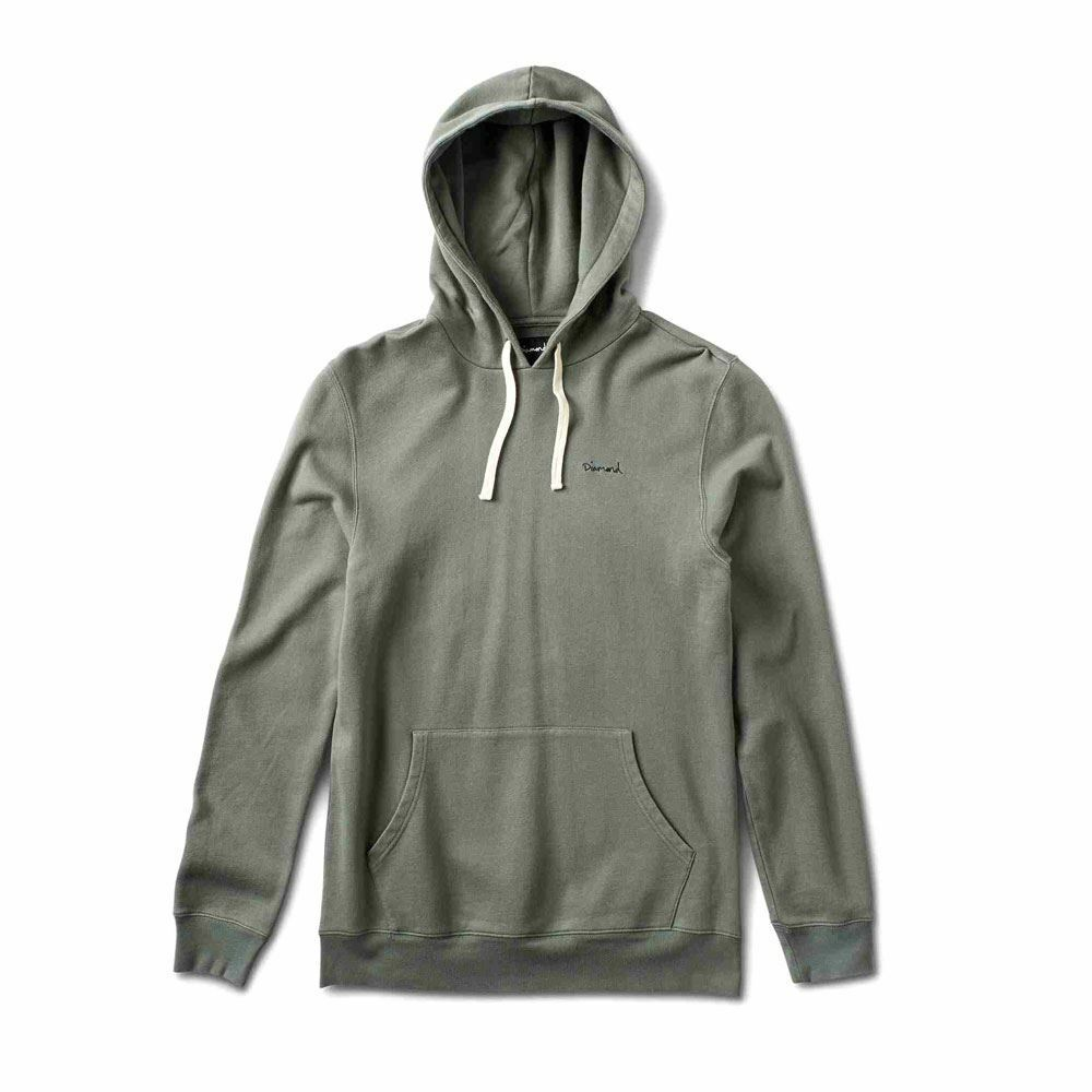 Diamond Supply Co Script Hoodie Hoodie Script Green 9526a9