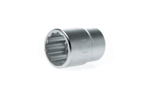 "12 Point Regular 1-1//8/"" Socket TENG TOOLS M340136-C3//4/"" Drive"