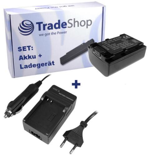 Batería CARGADOR PARA SONY hdr-cx-550 hdr-cx-550-e chip