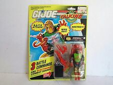 HASBRO GI-JOE TALKING BAT LEADER ACTION FIGURE MINT CARDED 19891 (AM207)