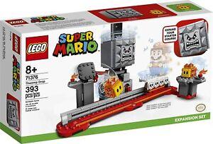 LEGO Nintendo Super Mario Brothers Thwomp Drop Expansion Set 71376 Building Kit
