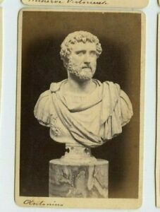 Vintage-CDV-Bust-of-Marcus-Anotonius-Mark-Anthony-Museum-of-Naples
