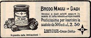 Pubblicita-vintage-brodo-Maggi-cibo-alimentari-werbung-advertising-reklame-A6