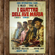 Original Poster I Quattro Dell'Ave Maria 100x140 CM - Bud Spencer, Terence Hill