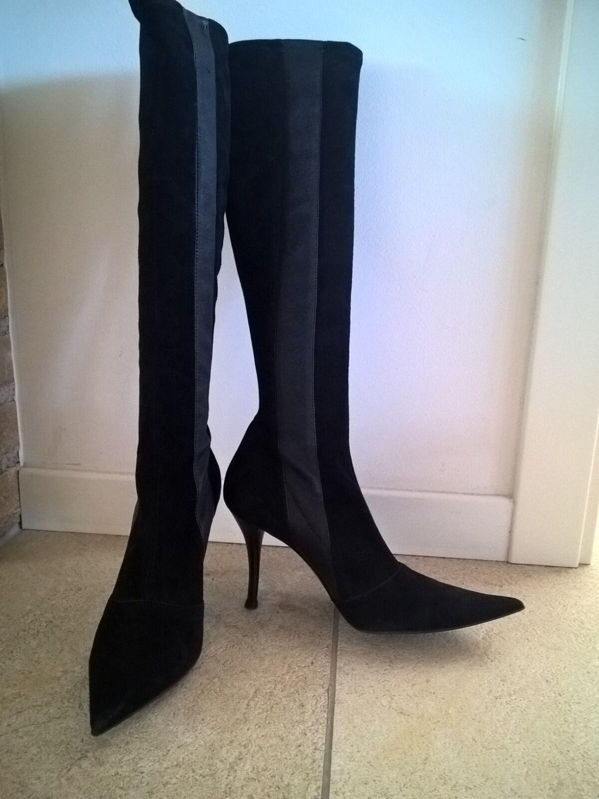 Zapatos especiales con descuento stivali pelle scamosciata neri, 39, les tropeziennes