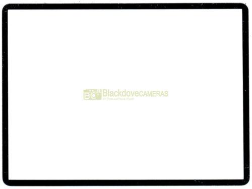 Vetro ottico. Protezione display LCD adesiva per Nikon D750