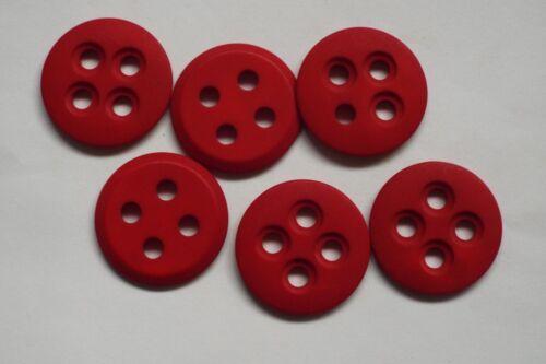 8pc 34mm Matt Dark Red Jacket Coat Trouser Cardigan Kids Button 0765