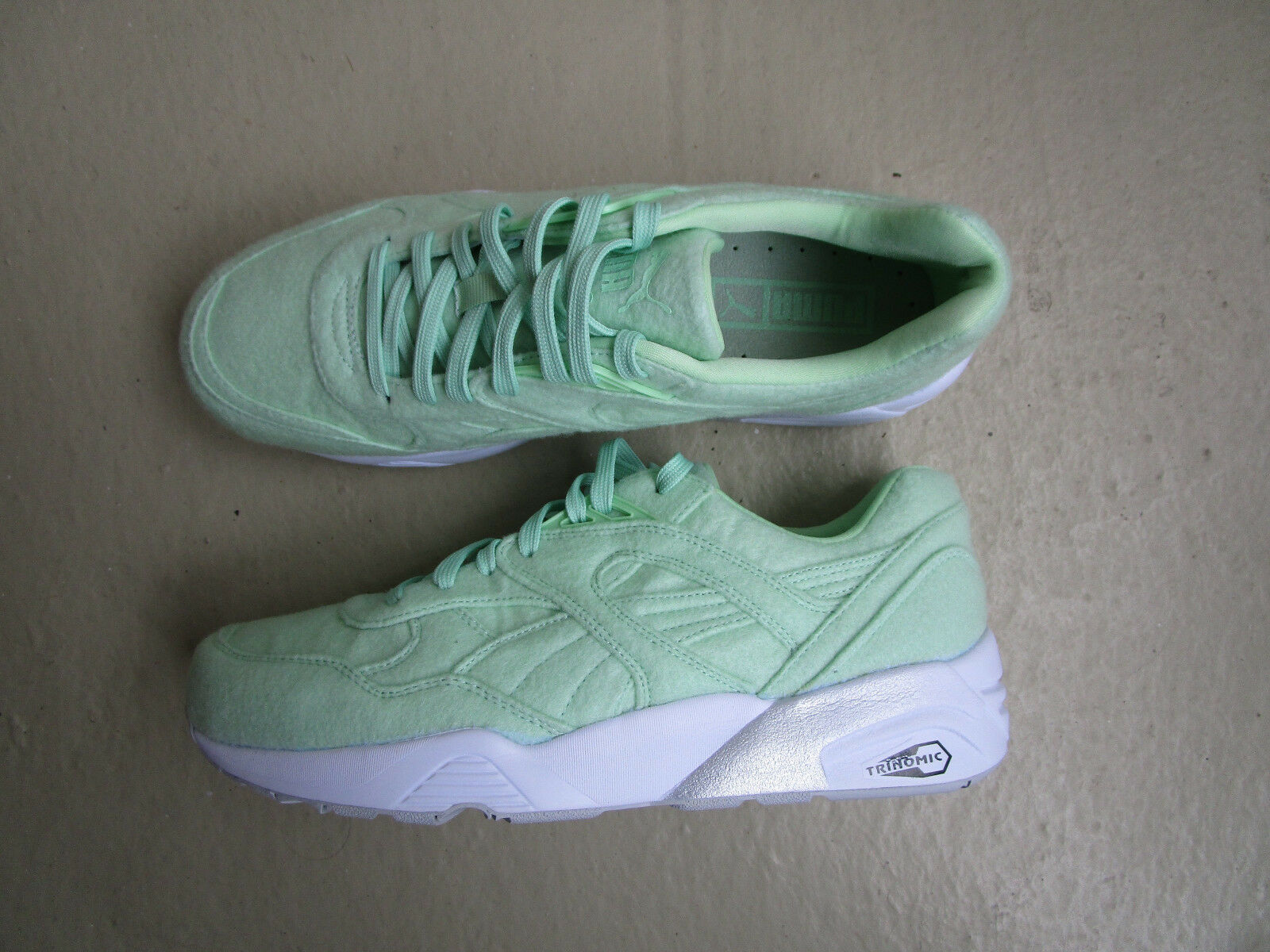 Puma R698 Bright 45 Mint Green White