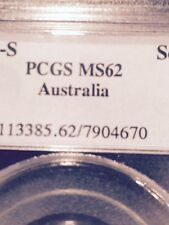 AUSTRALIA GOLD 1895 S 1 POUND PCGS MS-62