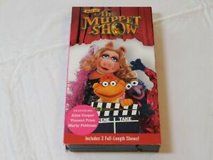 Best-of-the-Muppet-Show-VHS-Time-Life-Video-V830-05-Includes-3-Full-Length-Shows