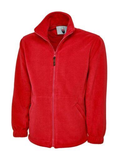 Uneek Premium Quality Heavyweight Full Zip Polyester Micro Fleece Work Jacket
