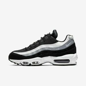 Nike-Air-Max-95-Essential-749766-038-Black-White-Grey-Men-039-s-Sportswear-Shoes-NIB