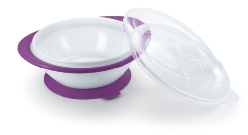 colour purple NUK Easy Learning Plate