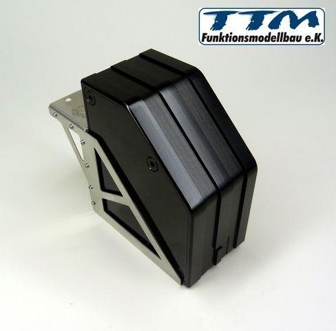 - Addizionale portaoggetti in metallo 1:16/1:14 con supporto-ttm848