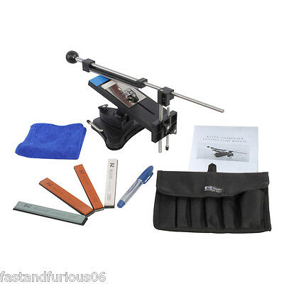 Kitchen Sharpening Wicked Knife Sharpener System Fix-angle With 4 Stones II